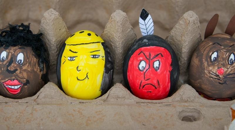 Velikonočna jajca - naravno barvanje pirhov in igre z njimi