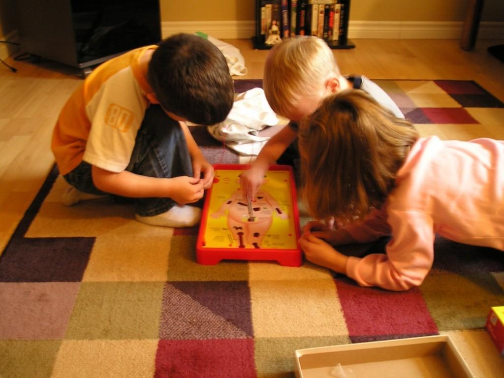 Naučimo otroke skozi igro, da so porazi del življenja