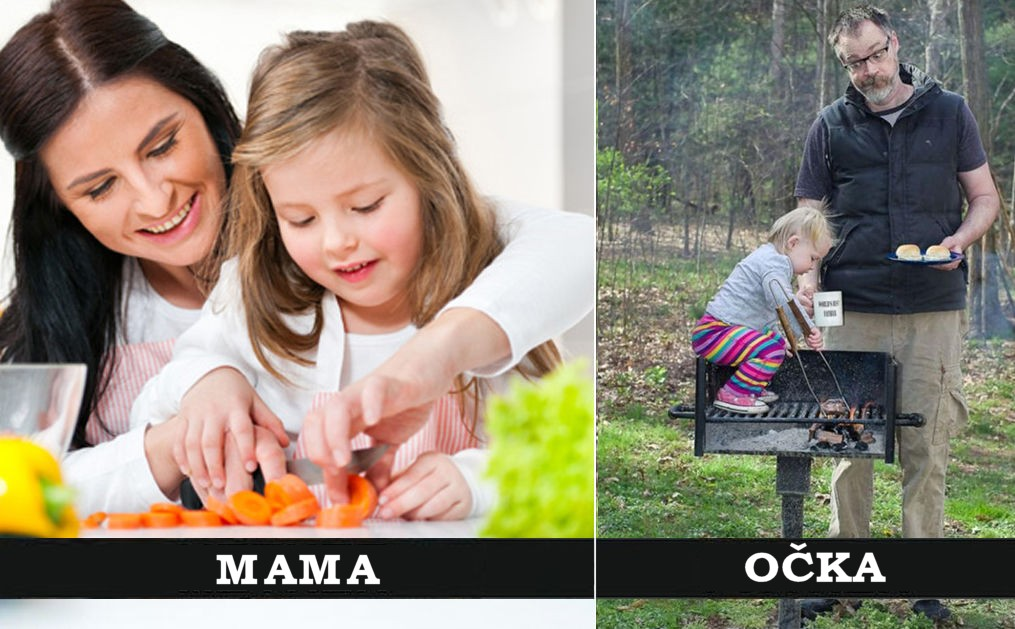 Mame in očki imajo zelo različne stile starševstva