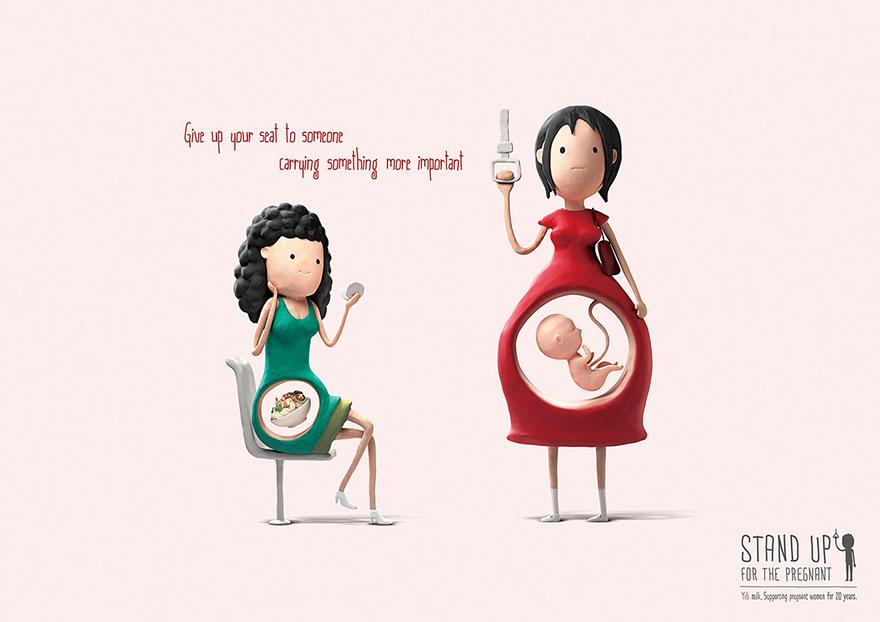 Vstanite nosečnicam