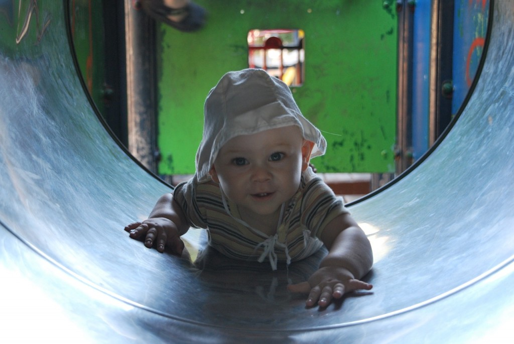 Naj otrok zadiha - dvignite stekleni zvon