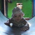 Naj otrok zadiha – dvignite stekleni zvon