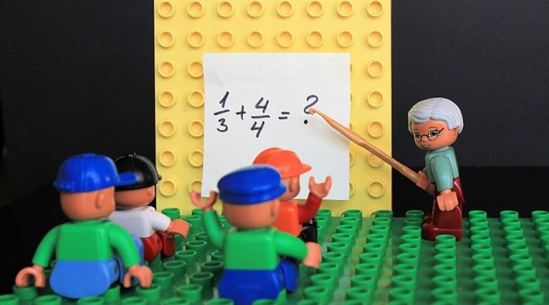 Matematika je lahko zabavna - lego kocke