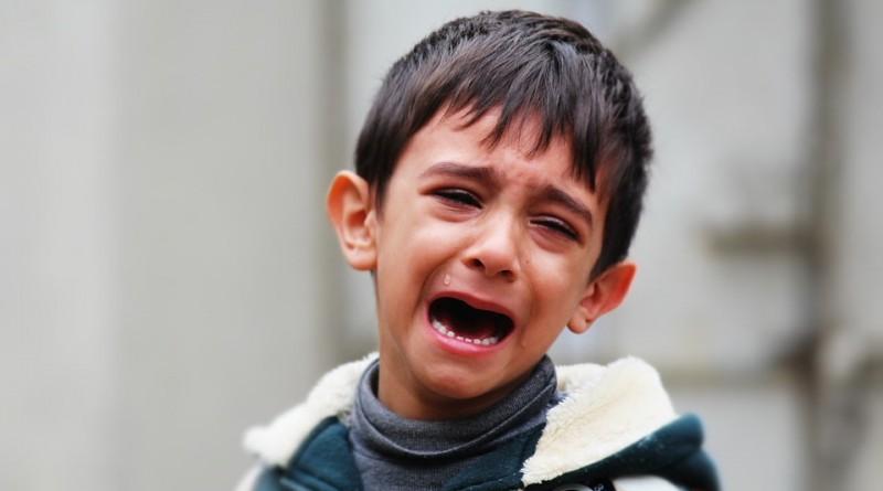 Nasilen otrok - dovolite otroku izživeti občutke