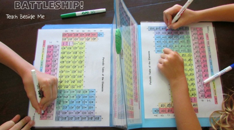 Periodni sistem elementov kot potapljanje ladjic
