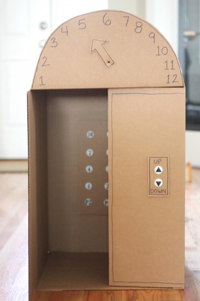 dvigalo-iz-kartona