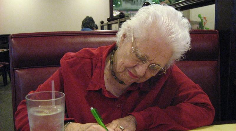 Babičnio pismo svoji vnukinji