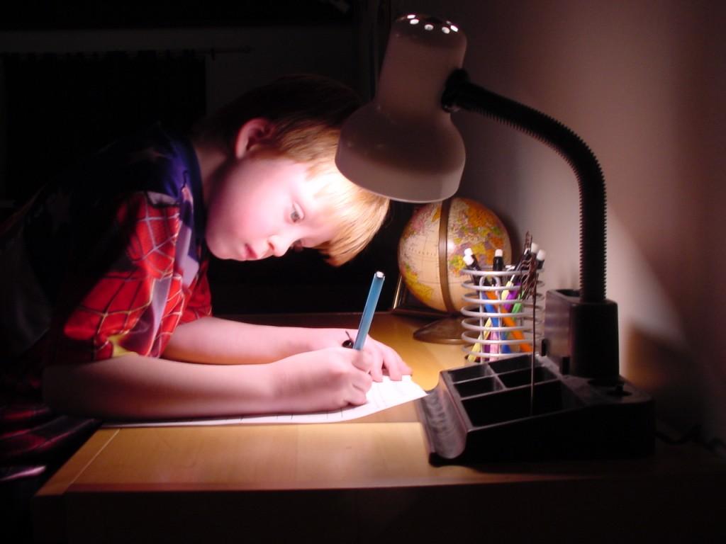Kdo v resnici dela domače naloge in se uči?