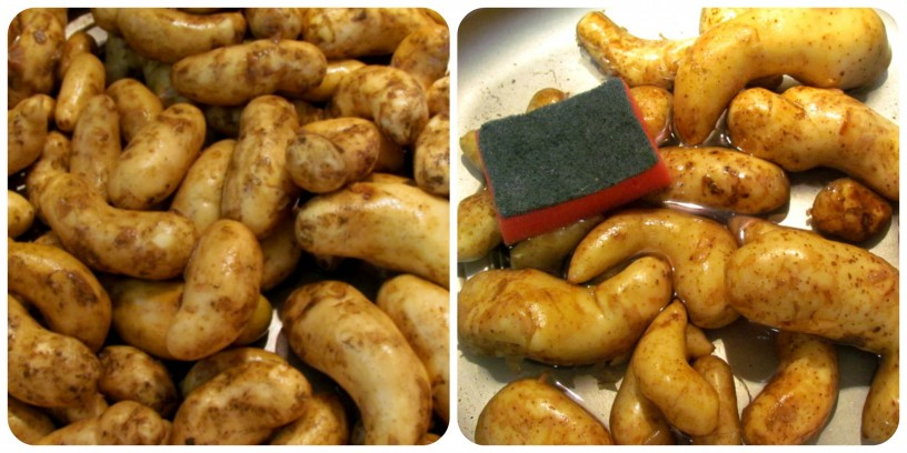 Recept: hrustljavo pečen mladi krompirček
