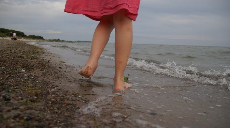 Platfus - plaže so odlične za ploska stopala pri otrocih