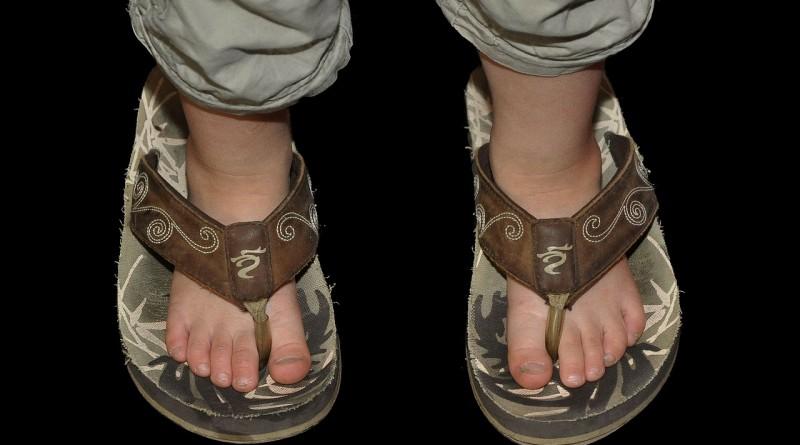 Poletna obutev za otroke