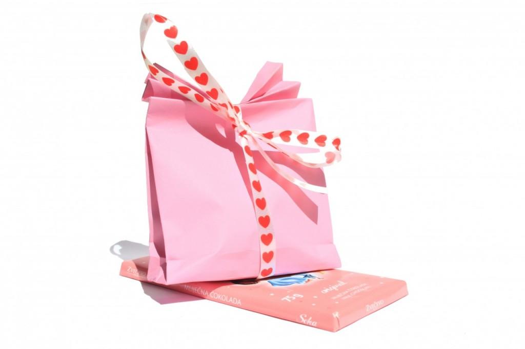 Naredite sami: majhna darilna vrečka