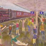 Lenine zgodbice: Potujoči vlak – pravljica za lahko noč