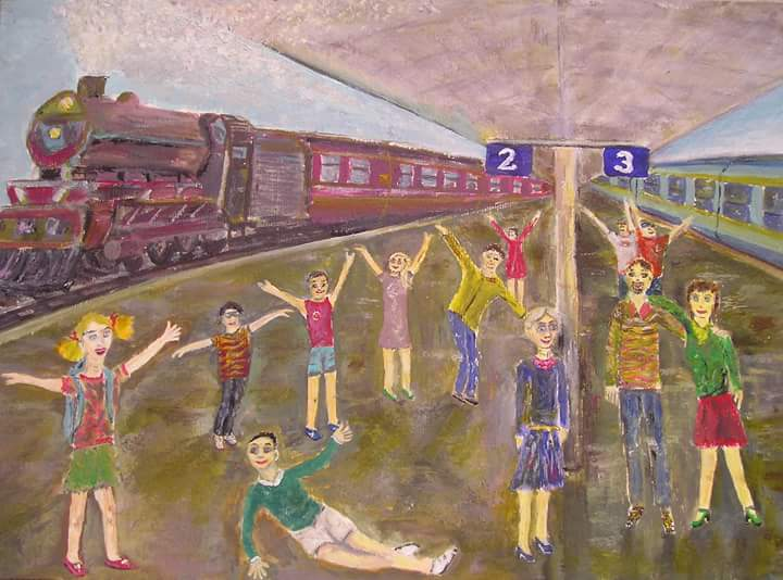Lenine zgodbice: Potujoči vlak - pravljica za lahko noč