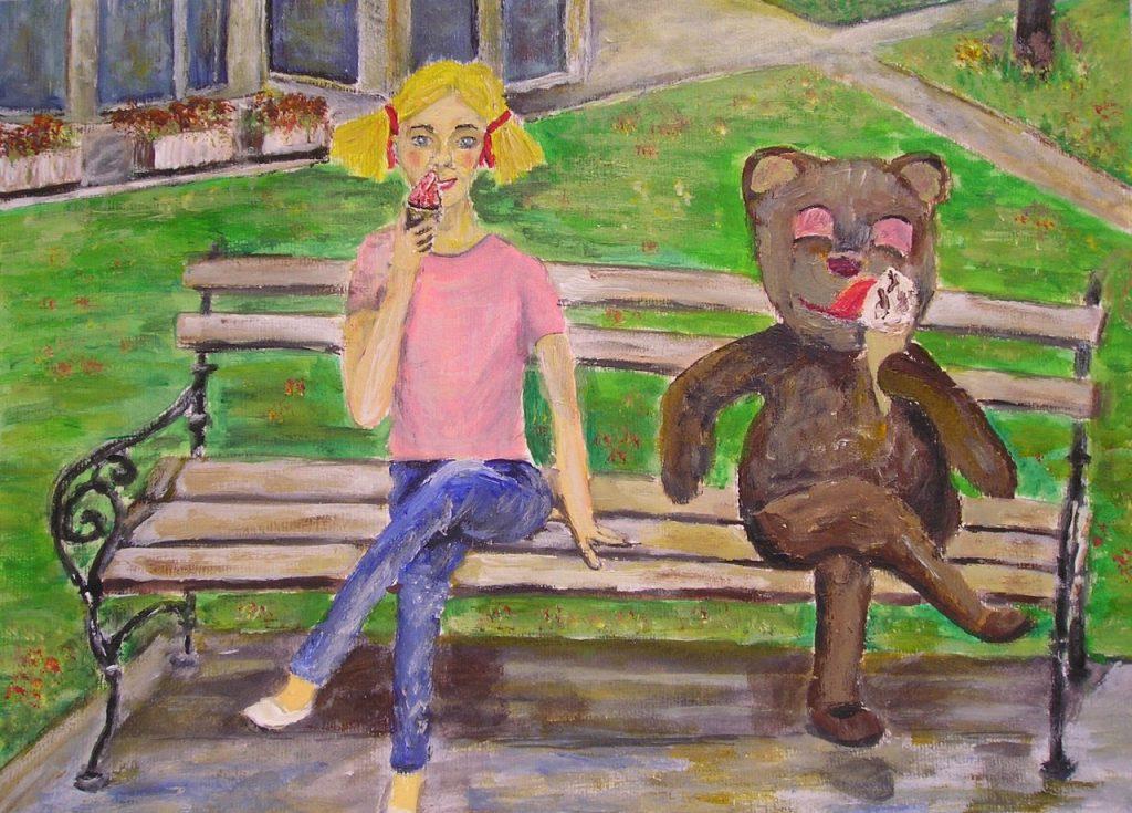 Lenine zgodbe: Medvedek sladkosned - pravljica za lahko noč