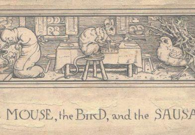 Mišek, ptička in klobasa - pravljica za lahko noč