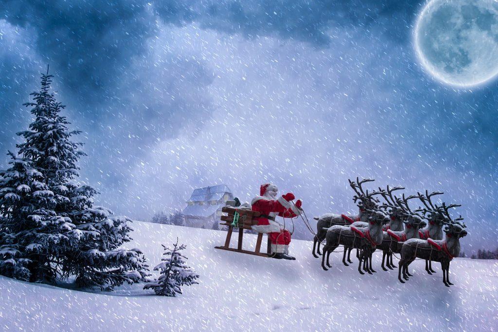 Izgubljena božična darila - pravljica za lahko noč