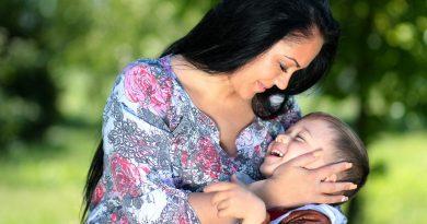 Objemite svojega otroka