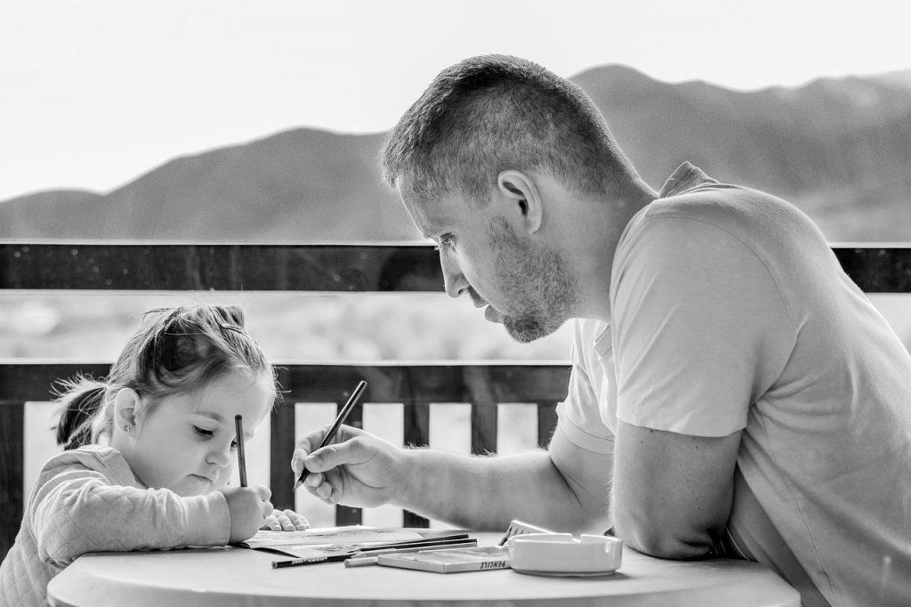 Nasvet ločenega očeta parom, ki otroke vzgajajo skupaj