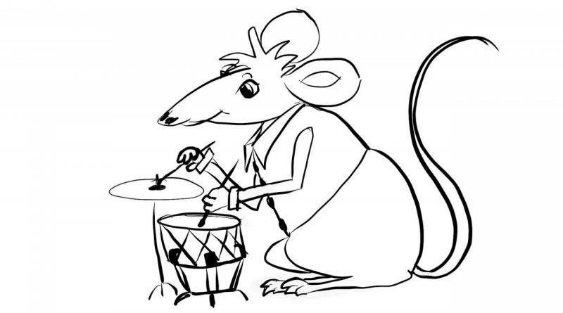 Zgodba o dveh podlih miših - Pravljica za lahko noč