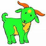 Dve kozi in brv