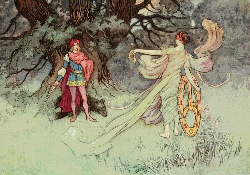 Pravična Mila in vilinec Timlin - pravljica za lahko noč