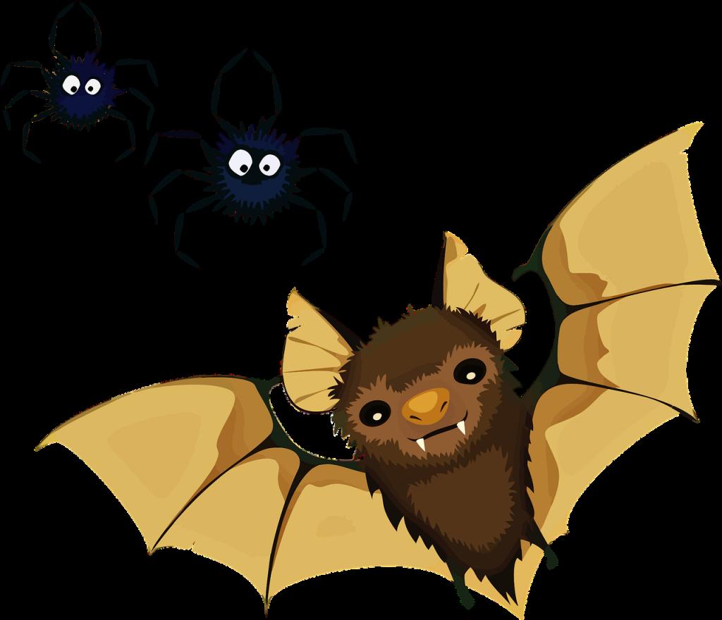 Zakaj netopir leta samo ponoči - pravljica za lahko noč