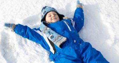 Peljite otroke ven tudi, ko je mrzlo in sneg