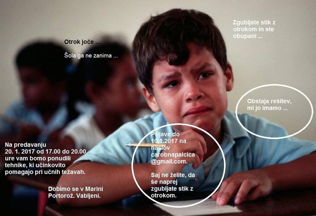 Predavanje: Kako otroku pomagati, da bo učinkovit pri učenju