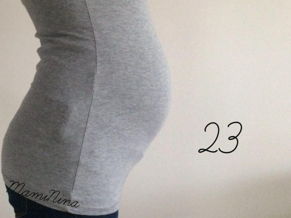 Nosečniški dnevnik 2: 23. teden nosečnosti