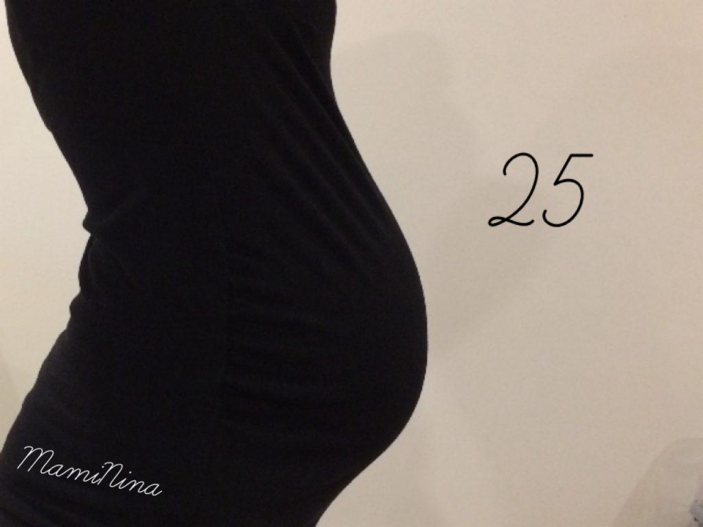 Nosečniški dnevnik 2: 25. teden nosečnosti