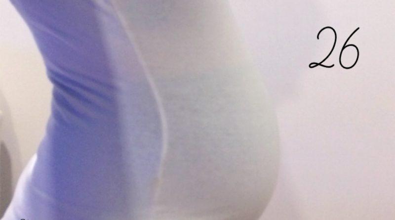 Nosečniški dnevnik 2: 26. teden nosečnosti