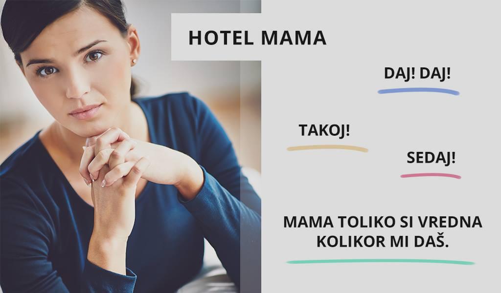 Delovne navade v hotelu Mama