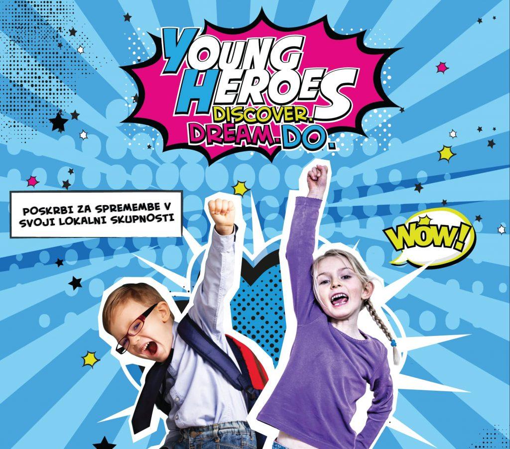 Slovenski mali junaki stopili skupaj za male junake iz Ugande