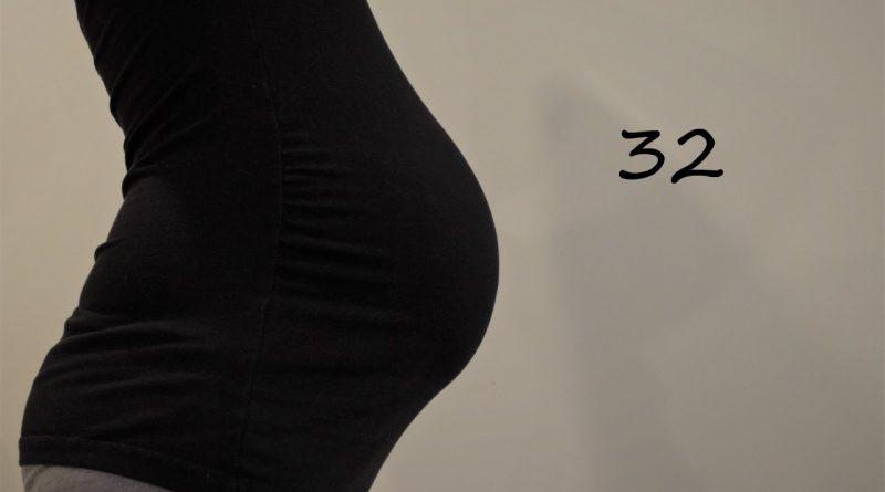Nosečniški dnevnik 2: 32. teden nosečnosti