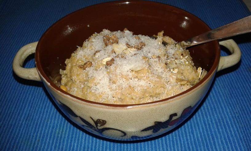 Recept: Mlečna polenta s čokolado za malčke