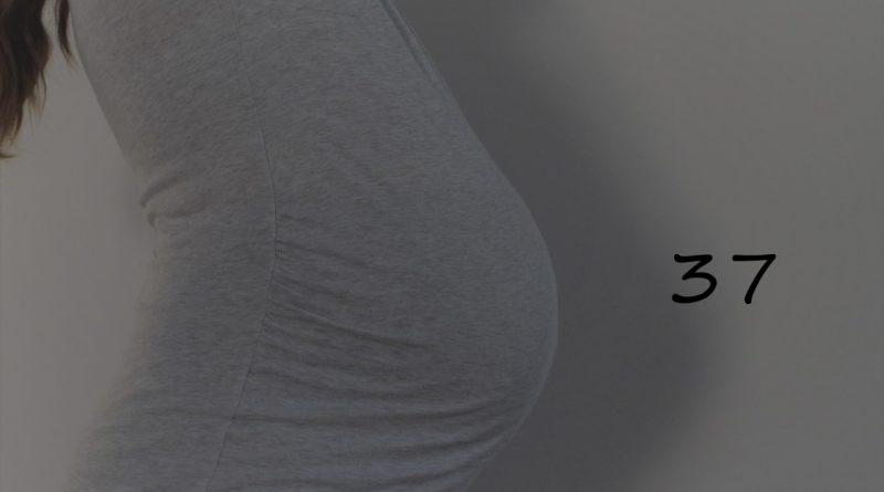 Nosečniški dnevnik 2: 37. teden nosečnosti