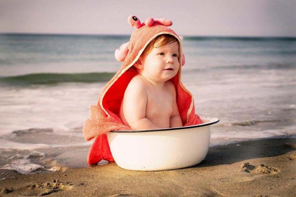 Seznanite otroka z vsemi čari vode in plavanja