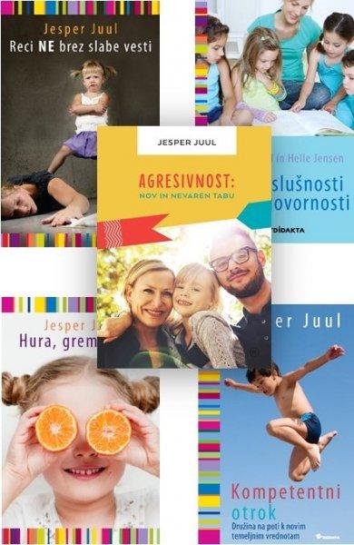 Zbirka Jesper Juul - 5 knjig