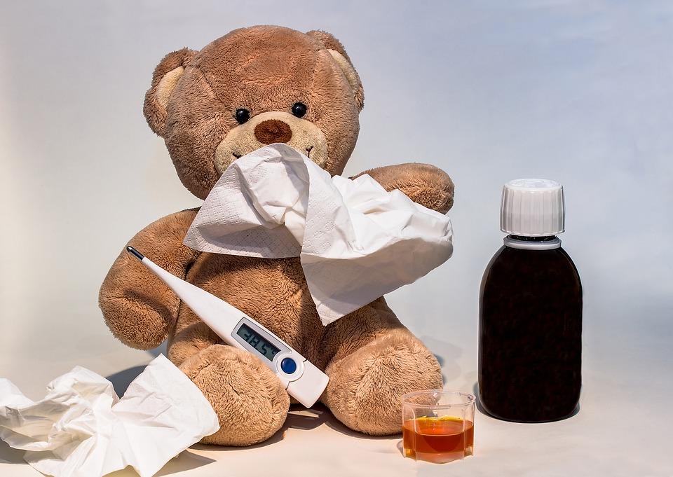 Otrok ima vročino - kako mu pomagati