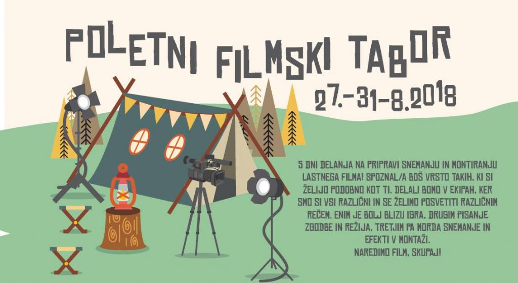 poletni filmski tabor 2018