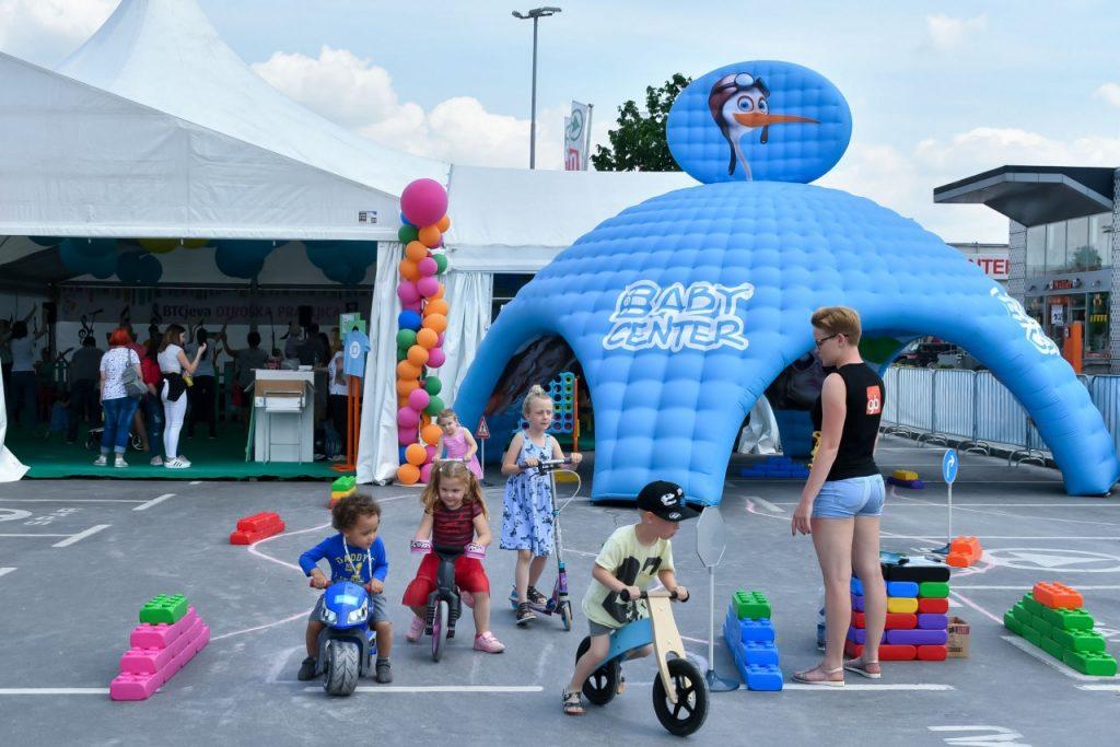 Neskončni svet zabave za najmlajše na Festivalu nakupov in zabave v BTC City Ljubljana