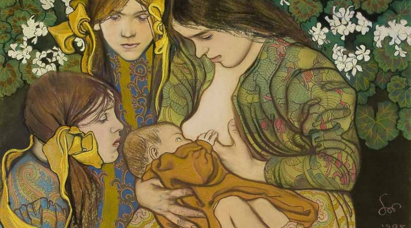Dojenje nekoč in dojenje danes