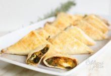 Pečeni žepki z zelenjavo in sirom