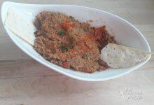 Zelenjavni tatarski biftek