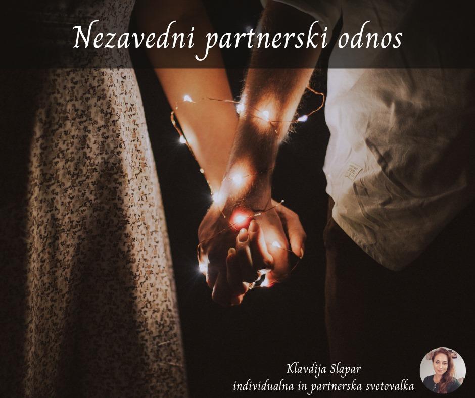 Nezavedni partnerski odnos