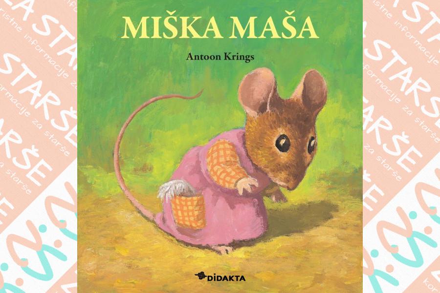 Miška Maša je štirinajsta knjiga iz priljubljene zbirke Drobižki.