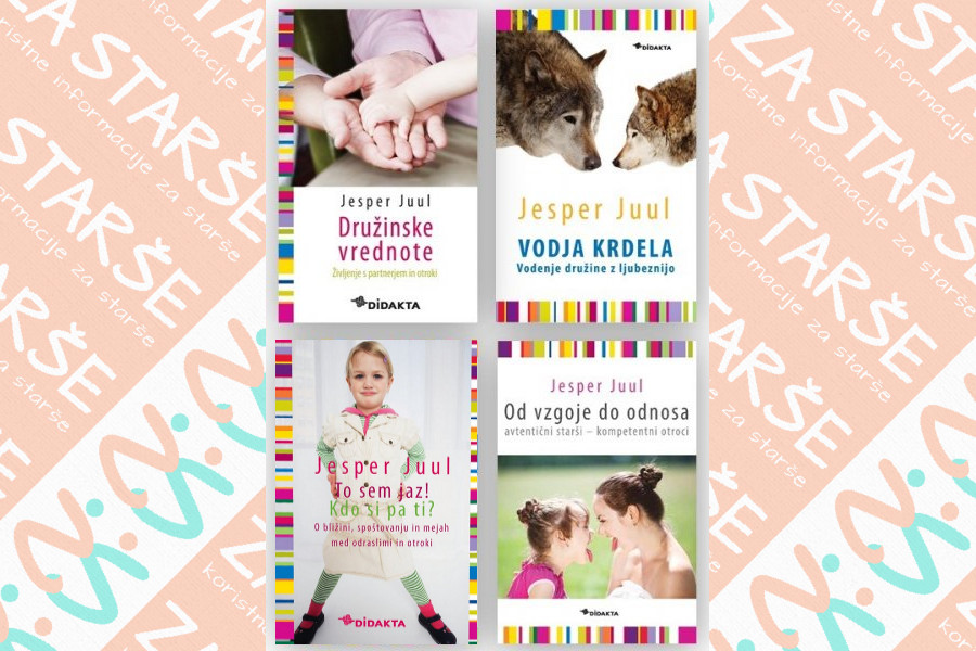 Zbirka Jesper Juul (4 knjige)